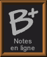 Notes en lignes